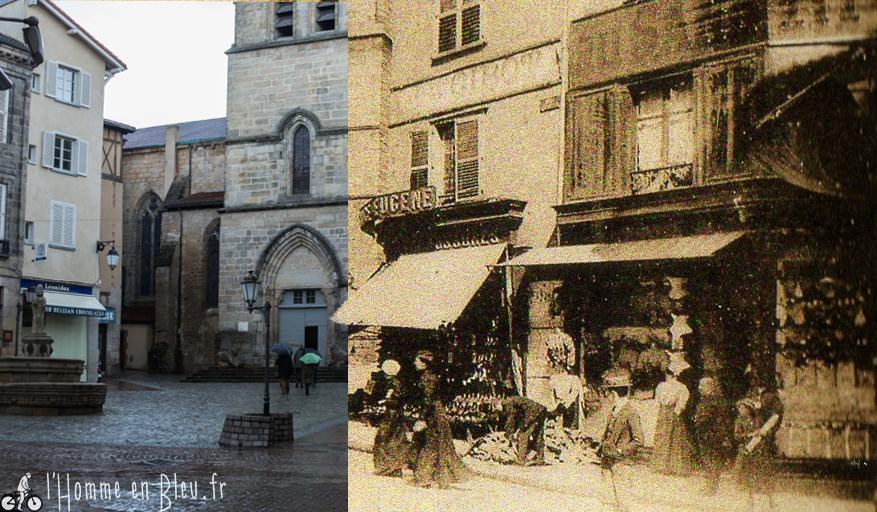 Limoges Place d Aine en Route Vers la Place D'aine