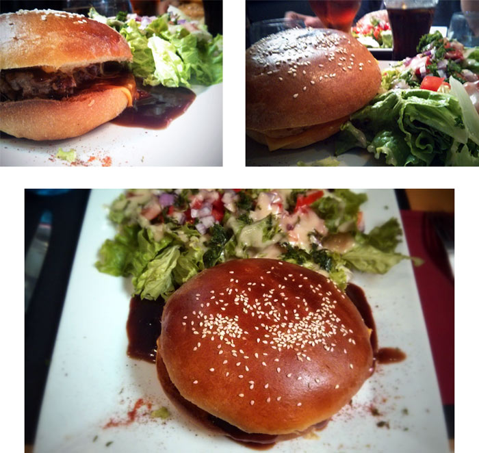 burgers sauce vin chorizo- barbe limoges