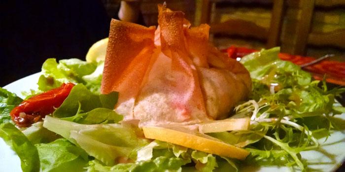 aumoniere-ecrevisse-truite-poireau-fondue
