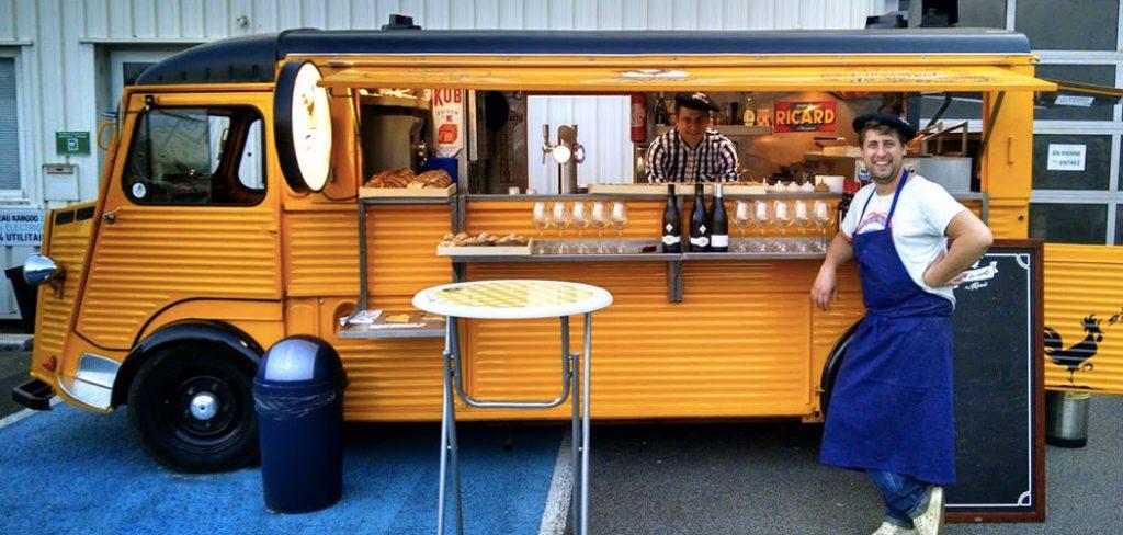 Food trucks limoges le dossier lheb 1 chez ren le for Food truck bar le duc