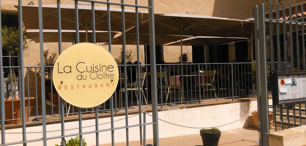 La Cuisine du Cloître, la gastronomie surprise par Guy Queroix - L on