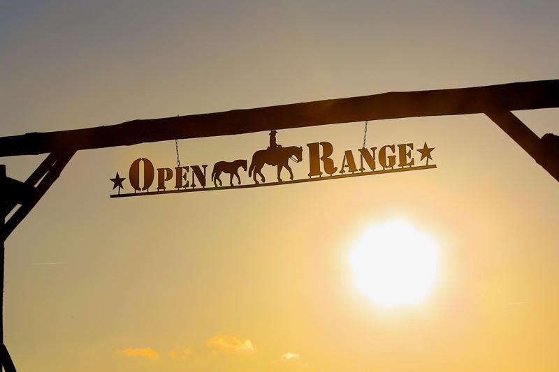 open-range-entrée