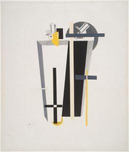 El-Lissitzky-Gravediggers-peinture