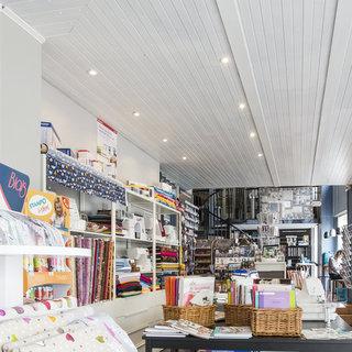 Brodeuses et couturières vue boutique Limoges