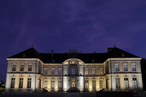 Musée des Beaux Arts Limoges nuit