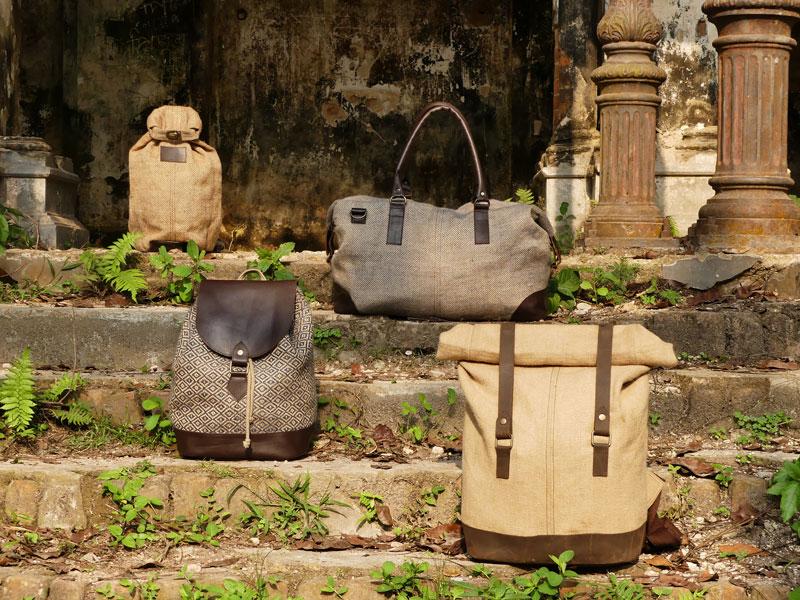 Présentation des modèles de sacs Bhallot.