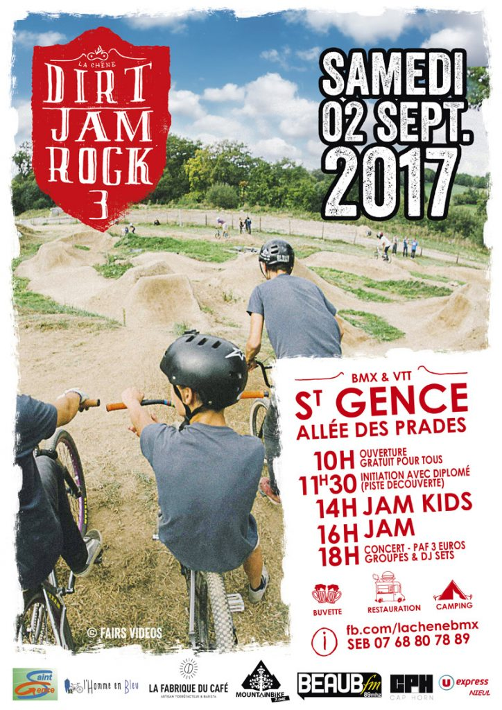 Affiche-Dirt-Jam-Chene-St-gence-lheb-velo-limoges-limousin-limoumou