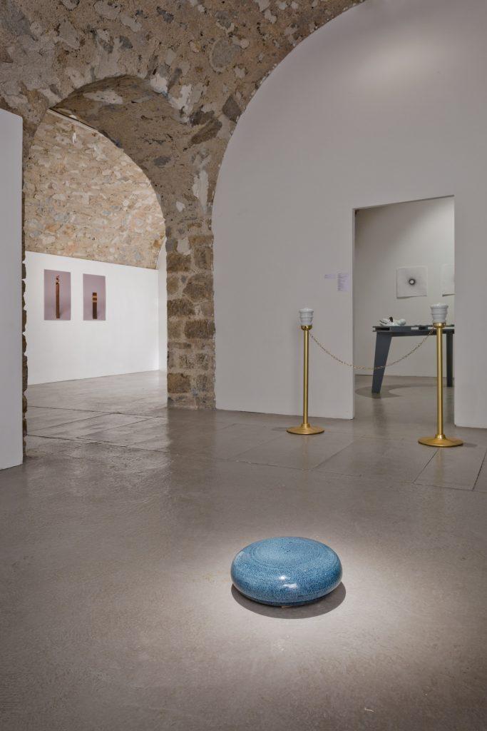 Vue exposition A l'aide des étoiles et du soleil FRAC Artothèque Limousin