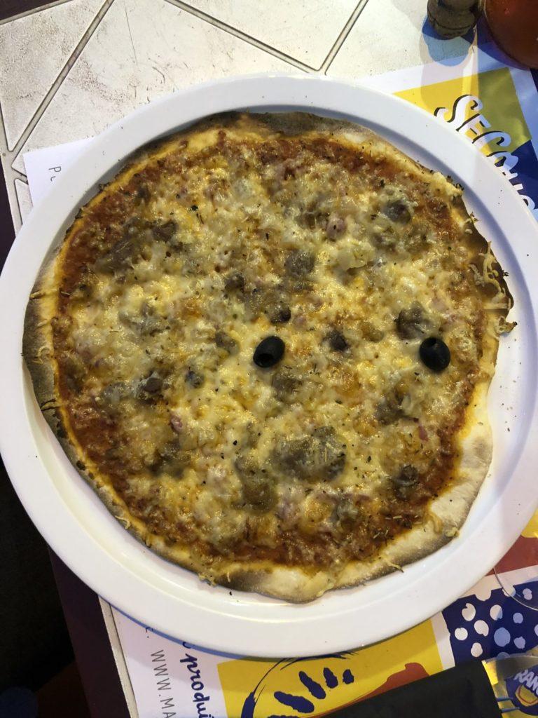 Pizza limousine de l'Assiette à Pizz