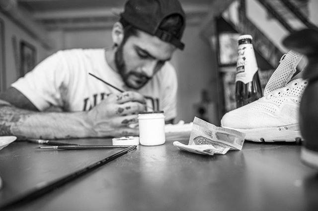 Amen Ta Sneaker Alban Portrait