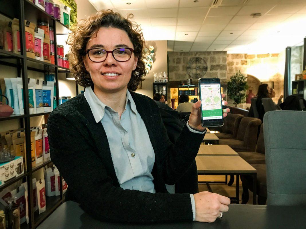 Claire Saulière est la fondatrice de l'application