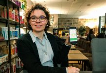 """Claire Saulière est la fondatrice de l'application """"Qui grimpe ?"""". Cette application permet de trouver des partenaires d'escalade."""