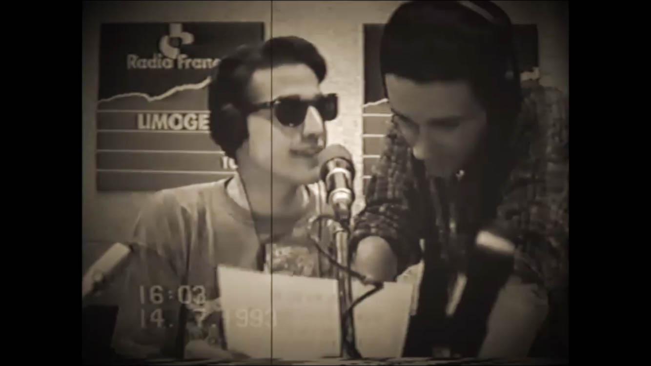 Régis Mazabraud à Radio France Limoges.