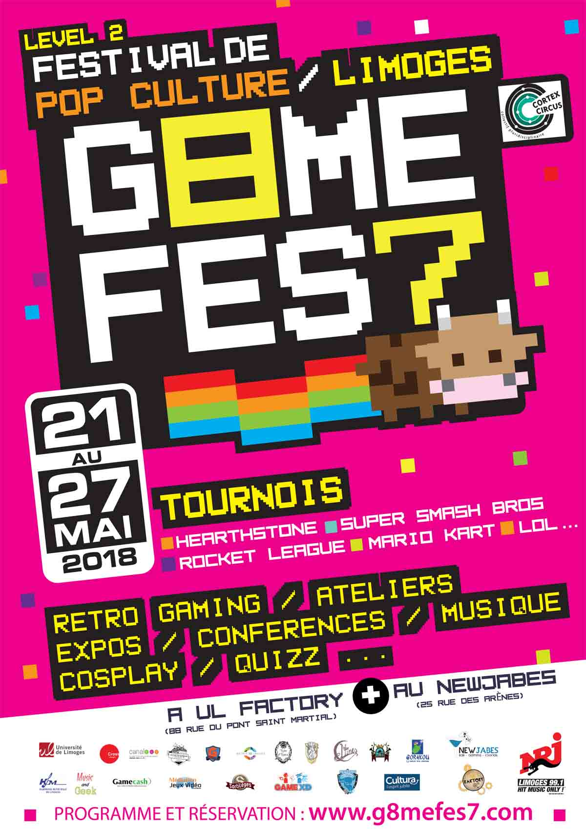 affiche-game-fest-2018-limoges-limoumou-jeu-video