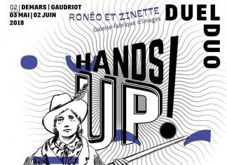 Hands up Ronéo et zinette L'Homme en bleu