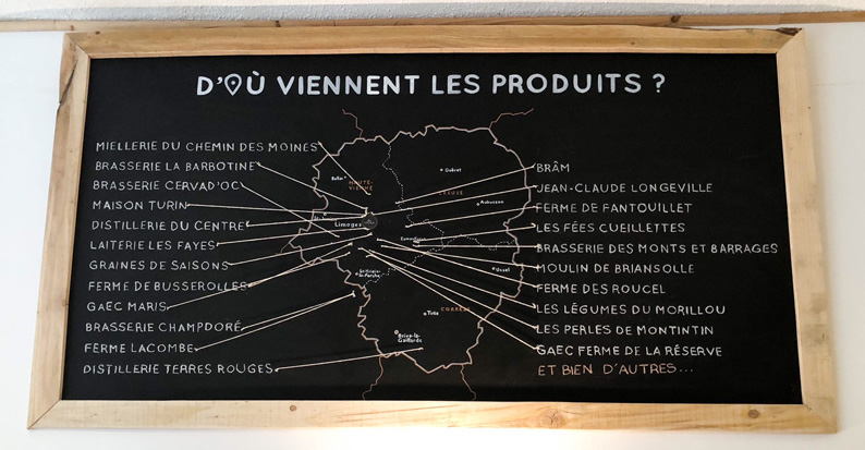Tous les produits proposés par La Locale sont issus de producteurs de la Haute-Vienne