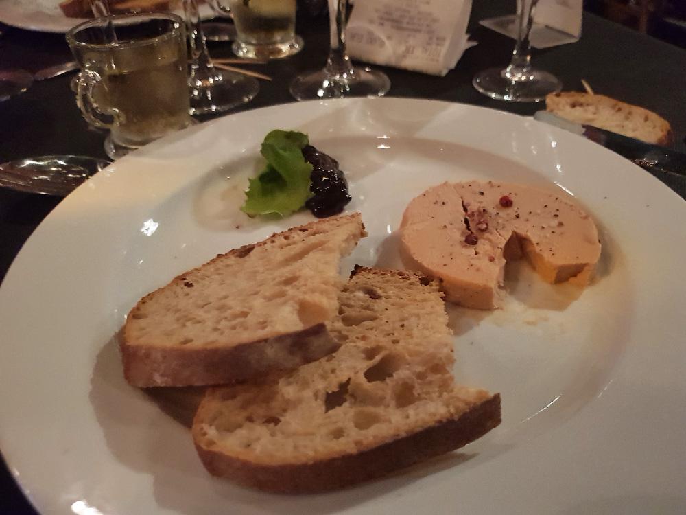 Le foie gras est produit dans la région Limousin.