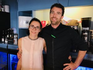 Tiphaine et Nathanaël Dargère ont ouvert la Récré des Papilles en juillet 2018. Le jeune couple s'est notamment inspiré des cafés poussettes de Bordeaux.