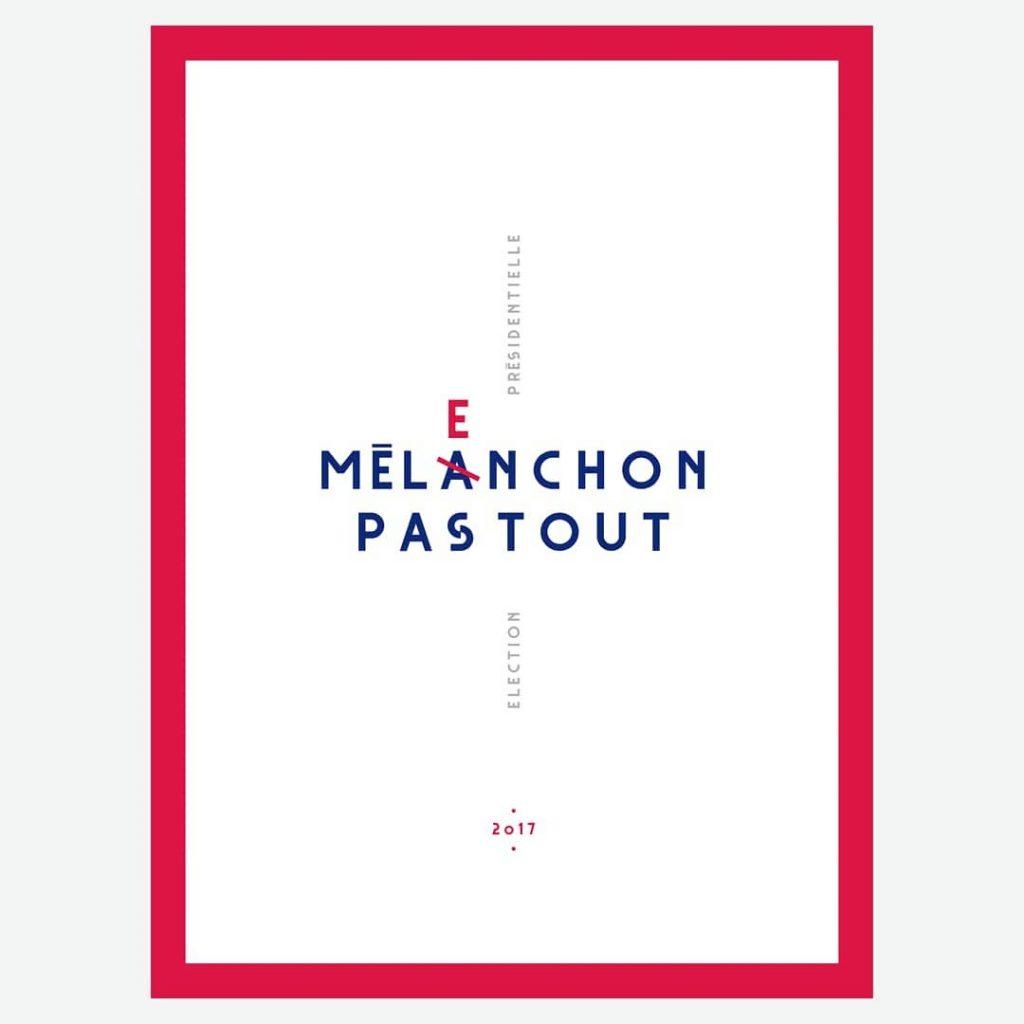 affiche-postache-mélanchon-2017