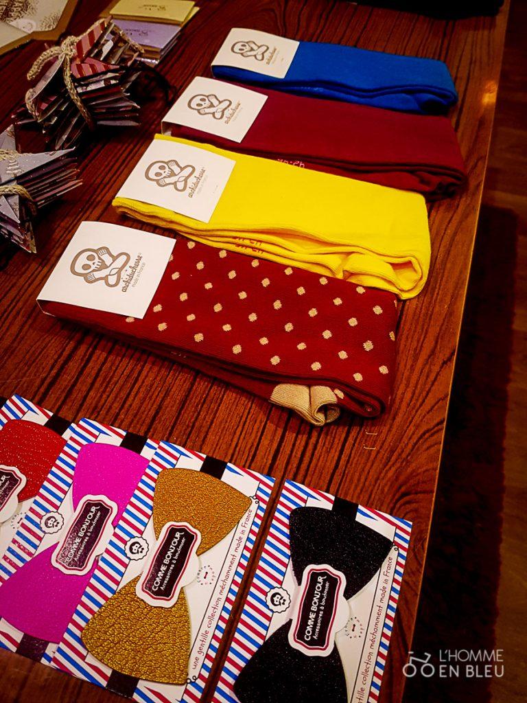 Chaussettes et slips- La manufactures française