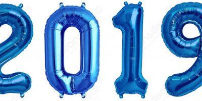 Ballons bleus 2019
