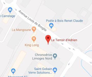 map Le Terroir d'Adrien