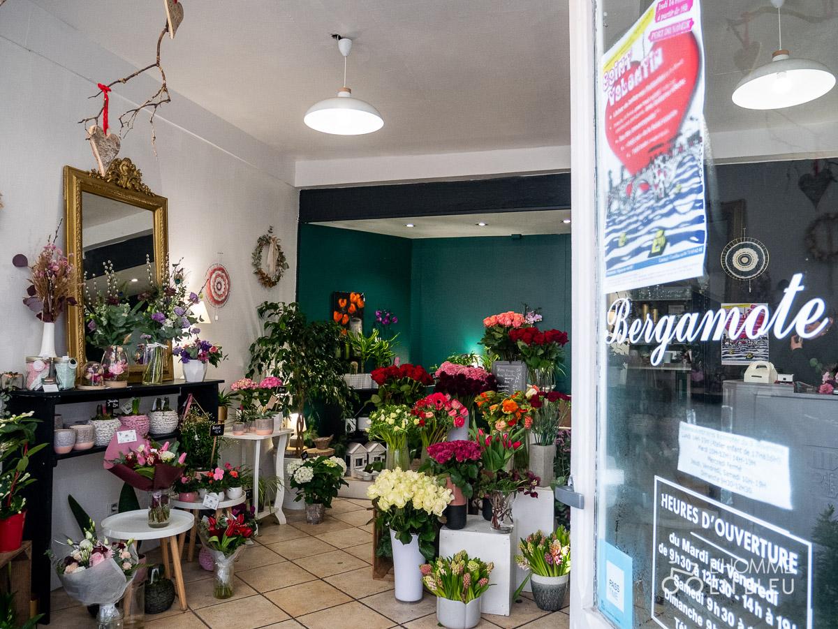 Des fleurs de saison pour la St Valentin chez LB Bergamote - L'Homme en Bleu