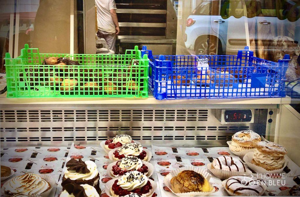 Stand de la boulangerie Guilliano