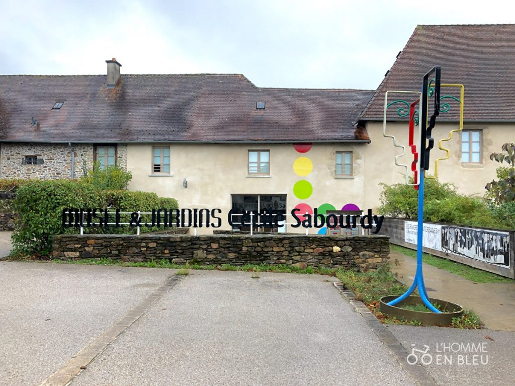 Entrée des Musée et Jardins Cécile Sabourdy