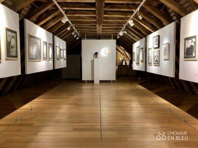 Dernière salle sous les combles du Musée Cécile Sabourdy
