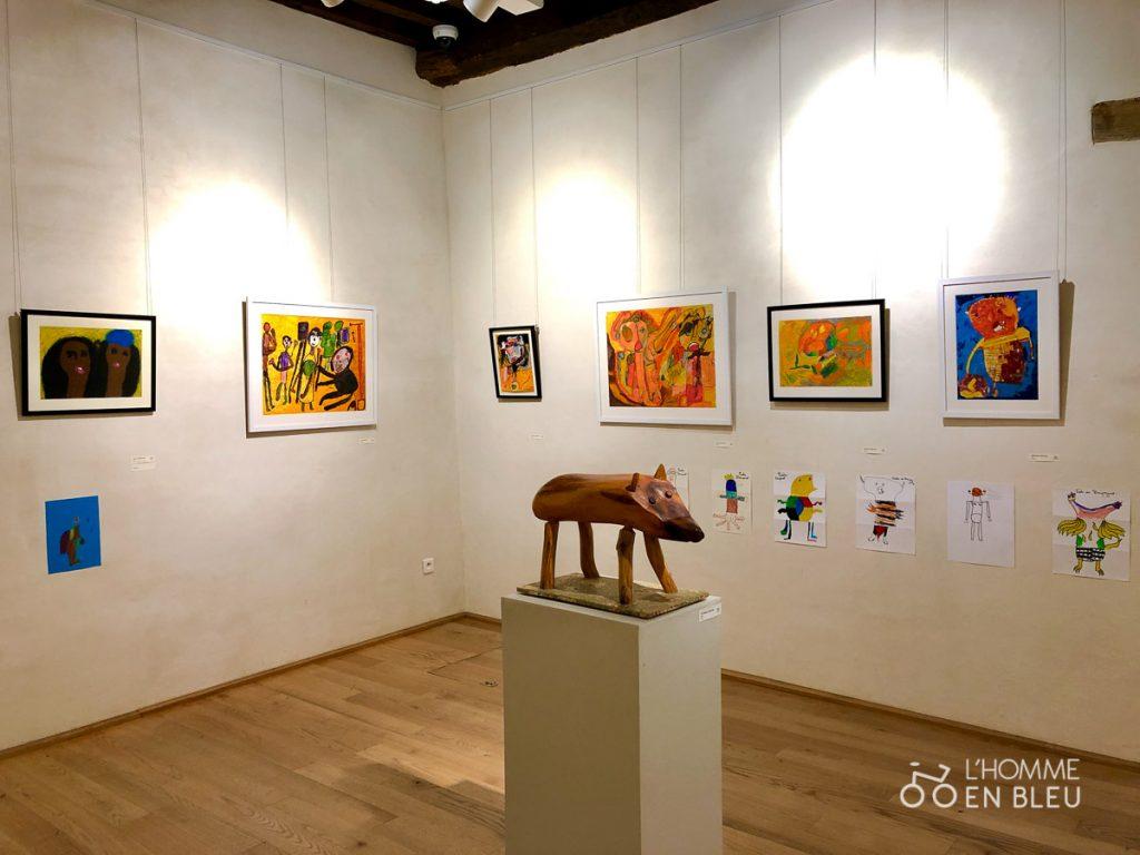 Salle d'Art Naïf et d'Art Brut du Musée Cécile Sabourdy