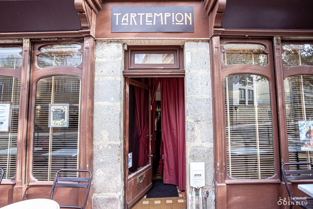Restaurant tartempion limoges façade