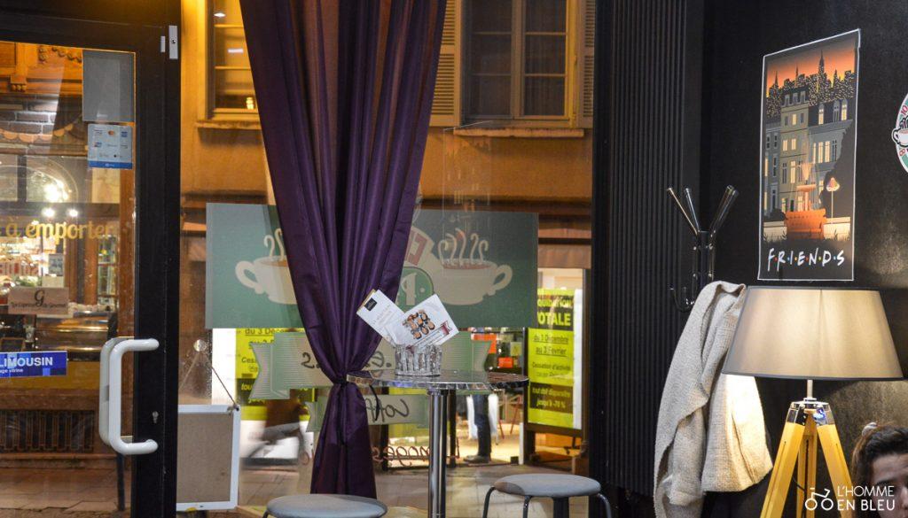 Le Central Perk à Limoges vu de l'intérieur