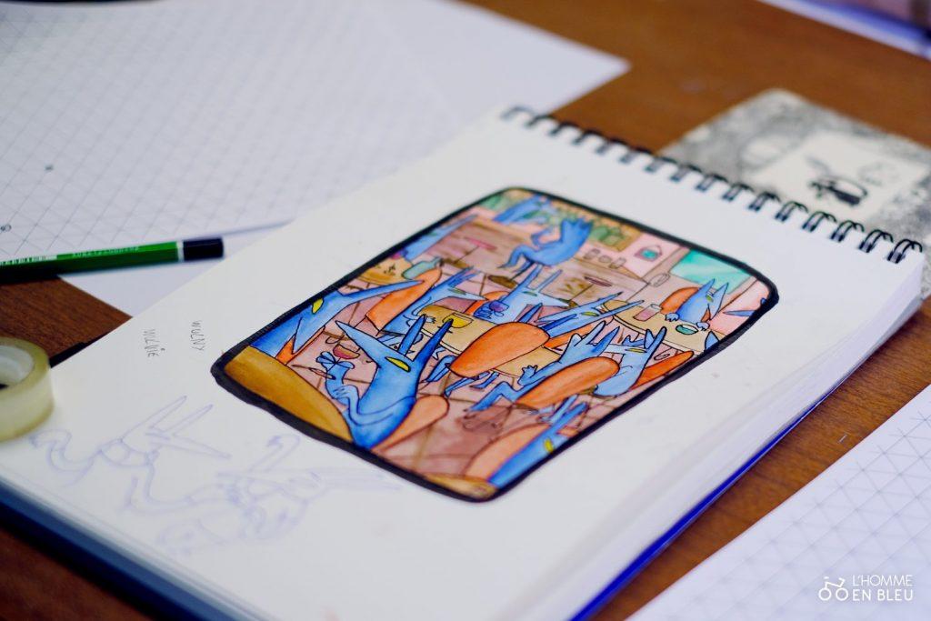 école crayon de bois dessin