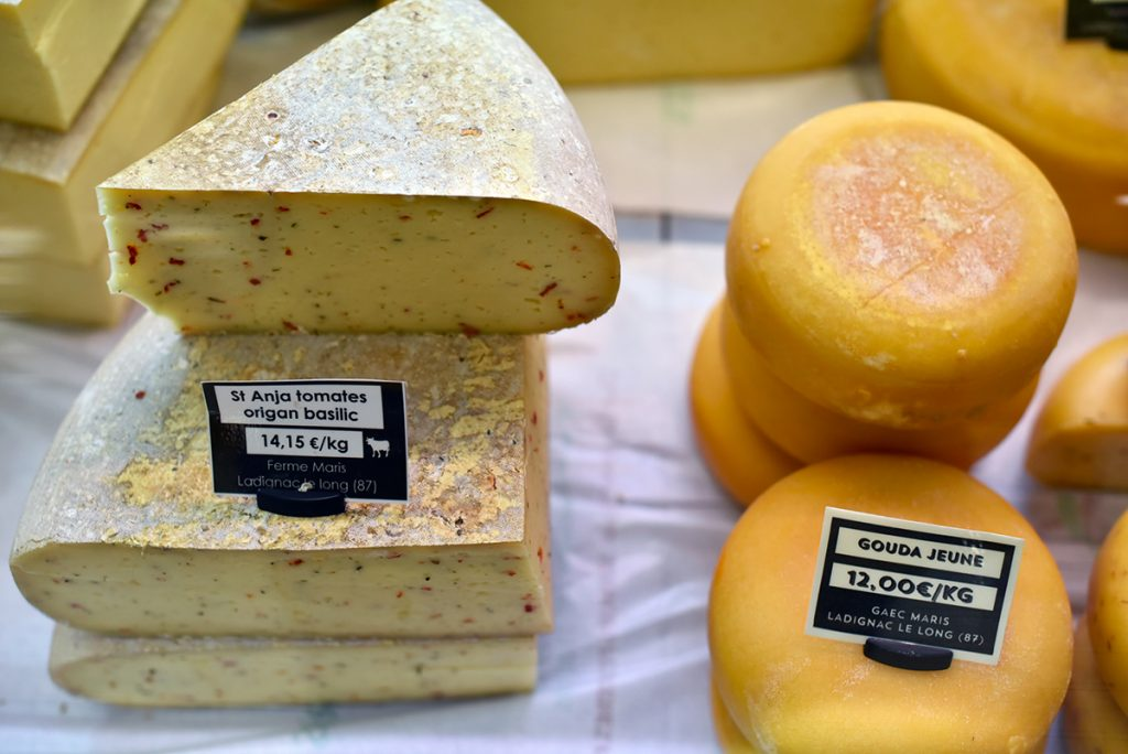 fromage du Limousin