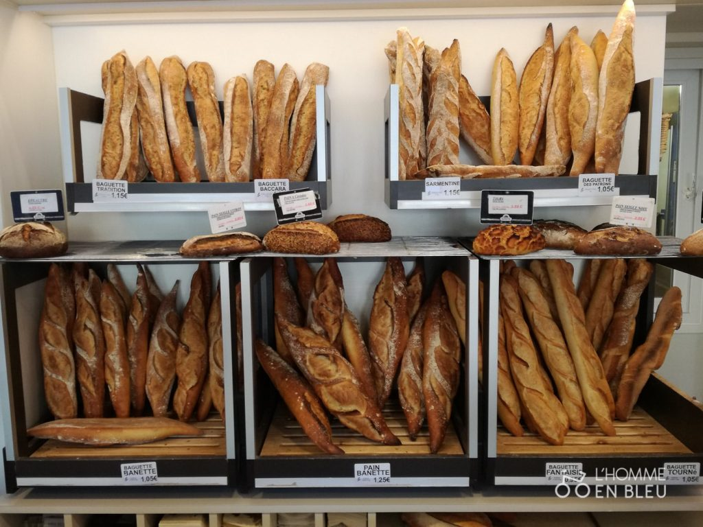 Pain de la boulangerie Le Baccara à Limoges