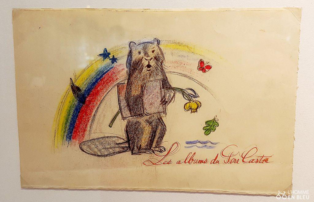 dessin-original-Exposition-pere-castor-limoges-bfm-2020-lheb-2