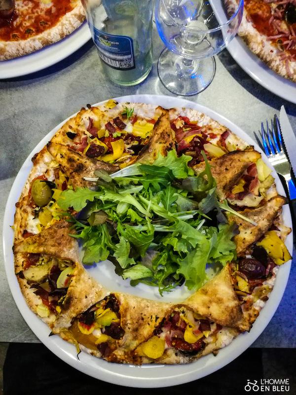 Pizza végétarienne de la Fabbrica à Limoges