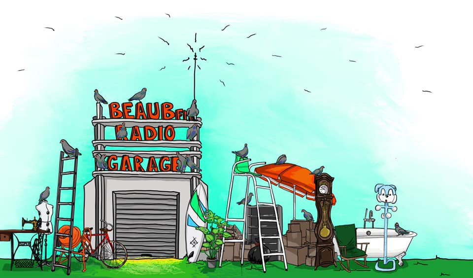 BEAUB FM radio garage