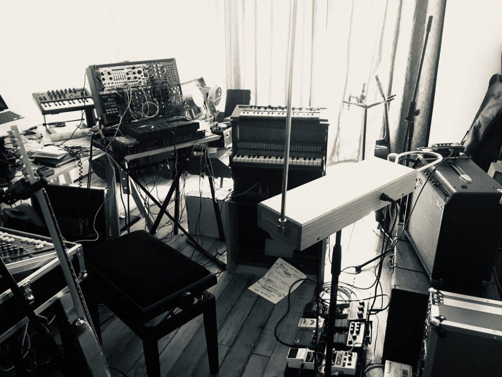 Home studio Artuan de Lierrée