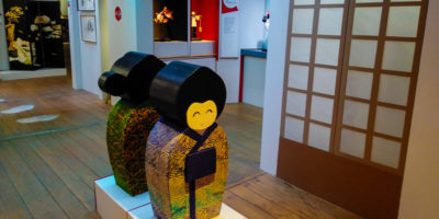 exposition-moulin-got-limoges-limoumou-lheb-culture-japon-2020-kokeshi-vue-d-ensemble