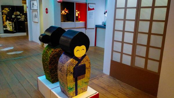 exposition-moulin-got-limoges-limoumou-lheb-culture-japon-2020-kokeshi-vue-d-ensemble