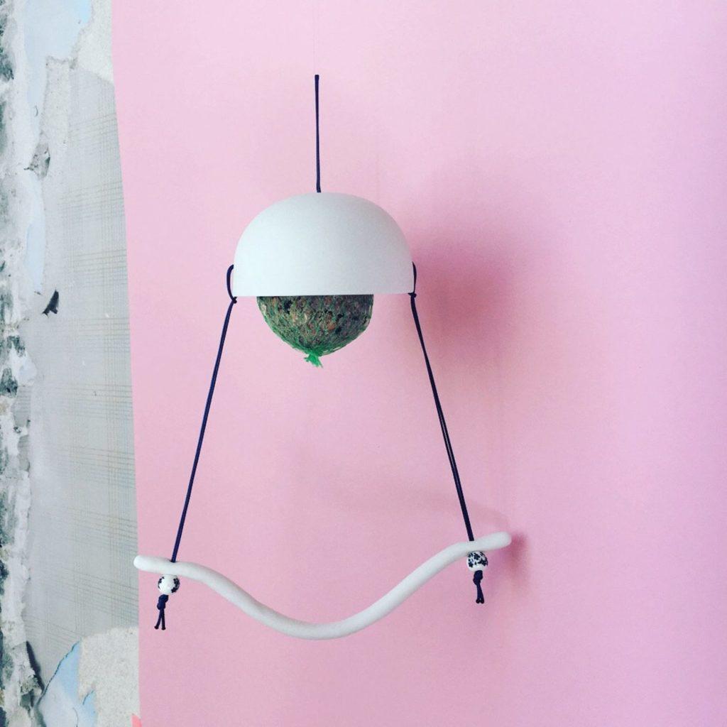 Mangeoire à oiseaux de la créatrice Mash Design