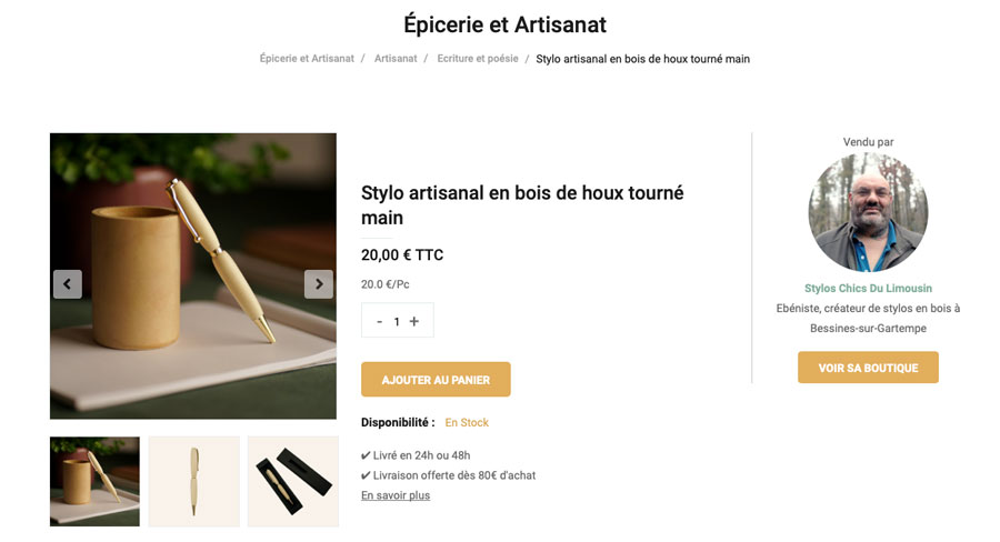 style bois artisanal