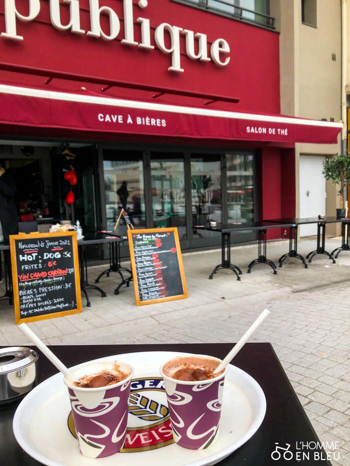 Chocolat chaud de Café République