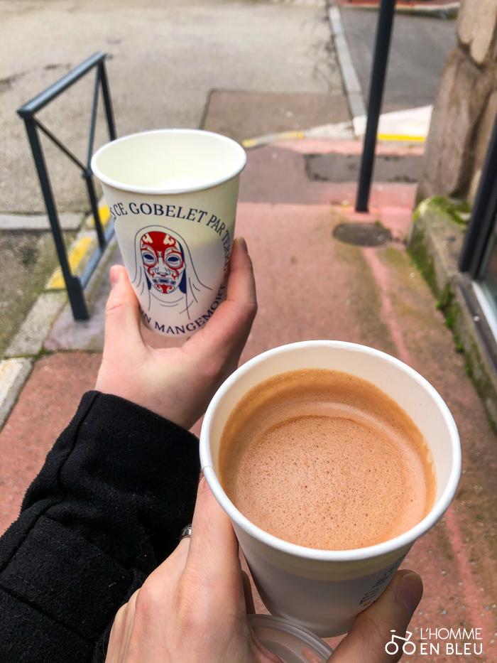 Chocolat chaud de la Fabrique du Café