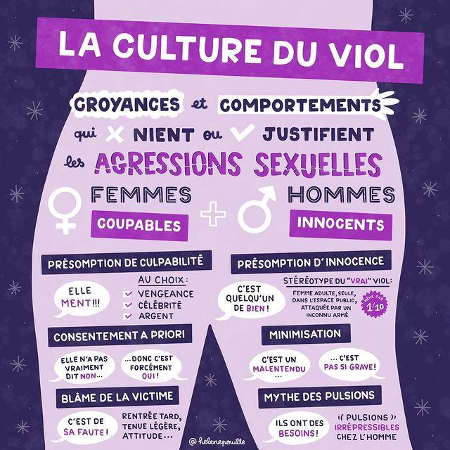culture du viol @helenepouille féminisme
